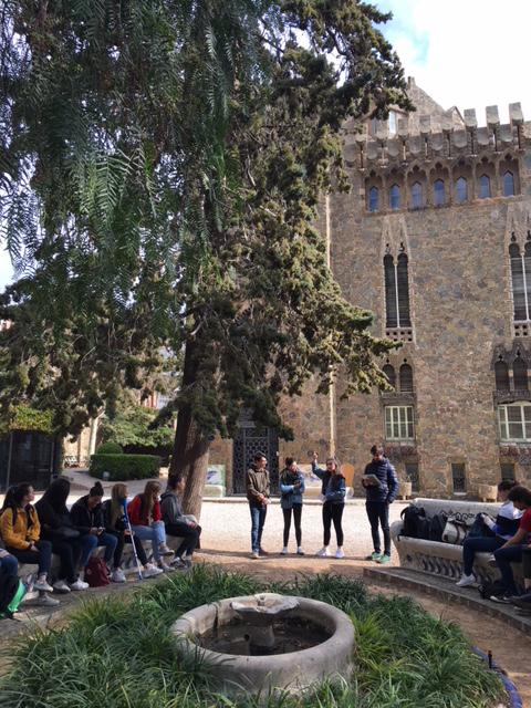 Visitas de Estudiantes del CETT-UB