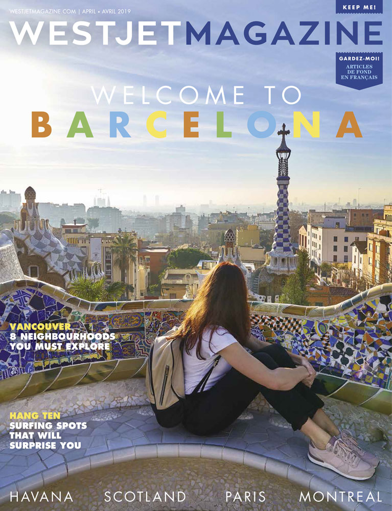 The Torre Bellesguard by Anton Gaudí according to WestJetMagazine