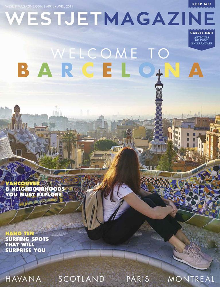 La Torre Bellesguard de Gaudí según WestJetMagazine